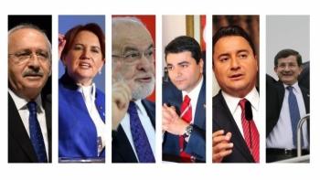 6 muhalefet partisi toplandı: İşte ortak alınan kararlar!