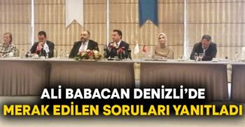 Ali Babacan seçim için tarih verdi!