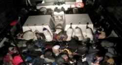 Bodrum'da 98 göçmen yakalandı