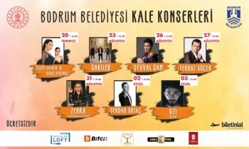 Bodrum'da ücretsiz halk konserleri başlıyor!
