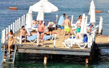 Bodrum turizm sezonuna kaldığı yerden devam ediyor