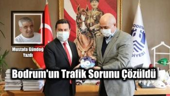 Bodrum'un Trafik Sorunu Çözüldü