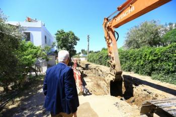 Bodrum ve Fethiye'de Kanalizasyon Çalışmaları Devam Ediyor