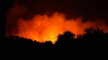 Bodrum ve Milas'ta Yangınları Sürüyor