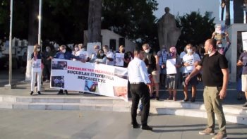 Çetesiz, mafyasız, aydınlık Türkiye eylemi ses getirdi: