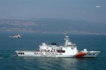 Ege'de Kıyılarında 214 Sığınmacıyı Yakaladı