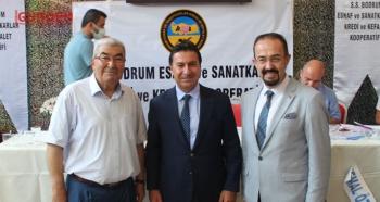 Erdoğan Başeymez Genel Kurulda güven tazeledi
