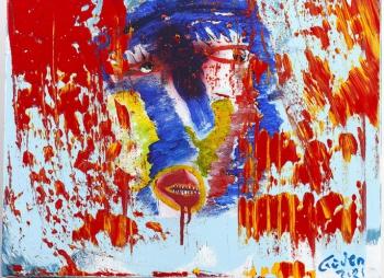 Güven Kıraç üçüncü resim sergisini Bodrum'da açtı
