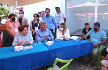 """İYİ Parti Genel Başkanı Akşener: """"Biz Behçet Başkanla hiç ayrılmadık ki!.."""""""