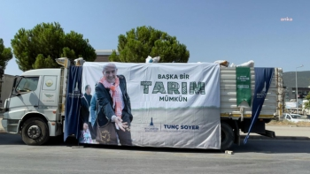 İzmir Büyükşehir Belediyesi Muğlalı üreticilere yem desteği!