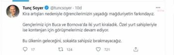 İzmir'deki Yurt Krizine Başkan Soyer El Attı
