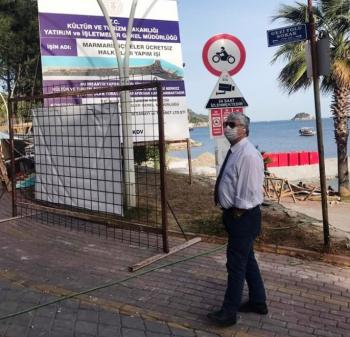 Marmaris'te İlk Olacak Lüks Halk Plajına Beton Gölgesi