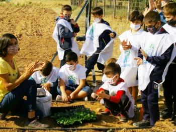 Öğrenciler ekolojik tarımı uygulamayla öğrenecek