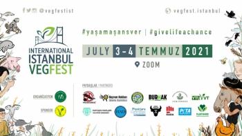 Uluslararası vegan festival 3-4 Temmuz'da