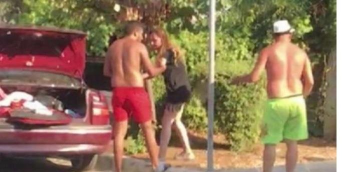 Tartışma düğün masrafları yüzünden çıktı: Eşini sokak ortasında darp etti