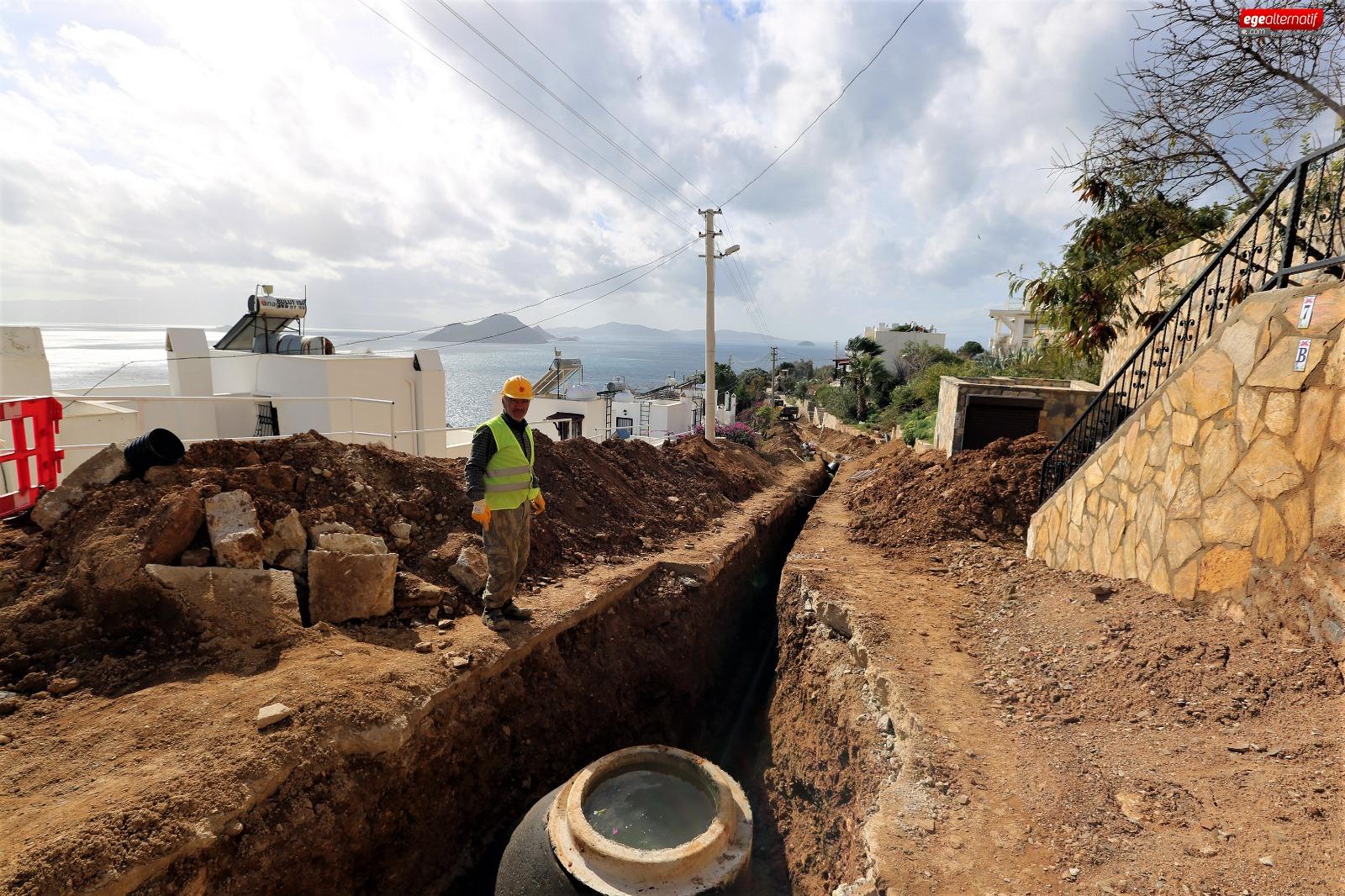 60 Kilometre Kanalizasyon Hattı Tamamlandı