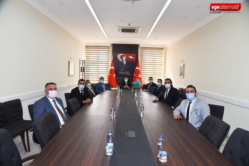 AK Parti'den Vali Orhan Tavlı'ya Ziyaret