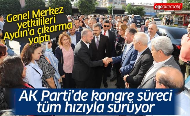 AK Parti Genel Merkezi Aydın'a çıkarma yaptı
