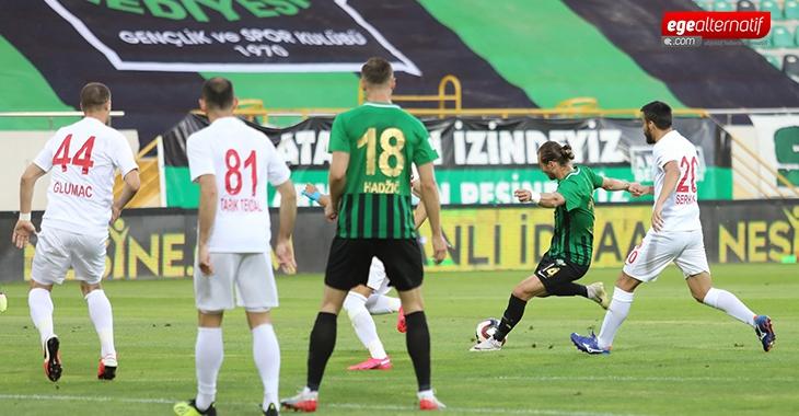 Akhisarspor evinde Ümraniyespor'u tek golle geçti!