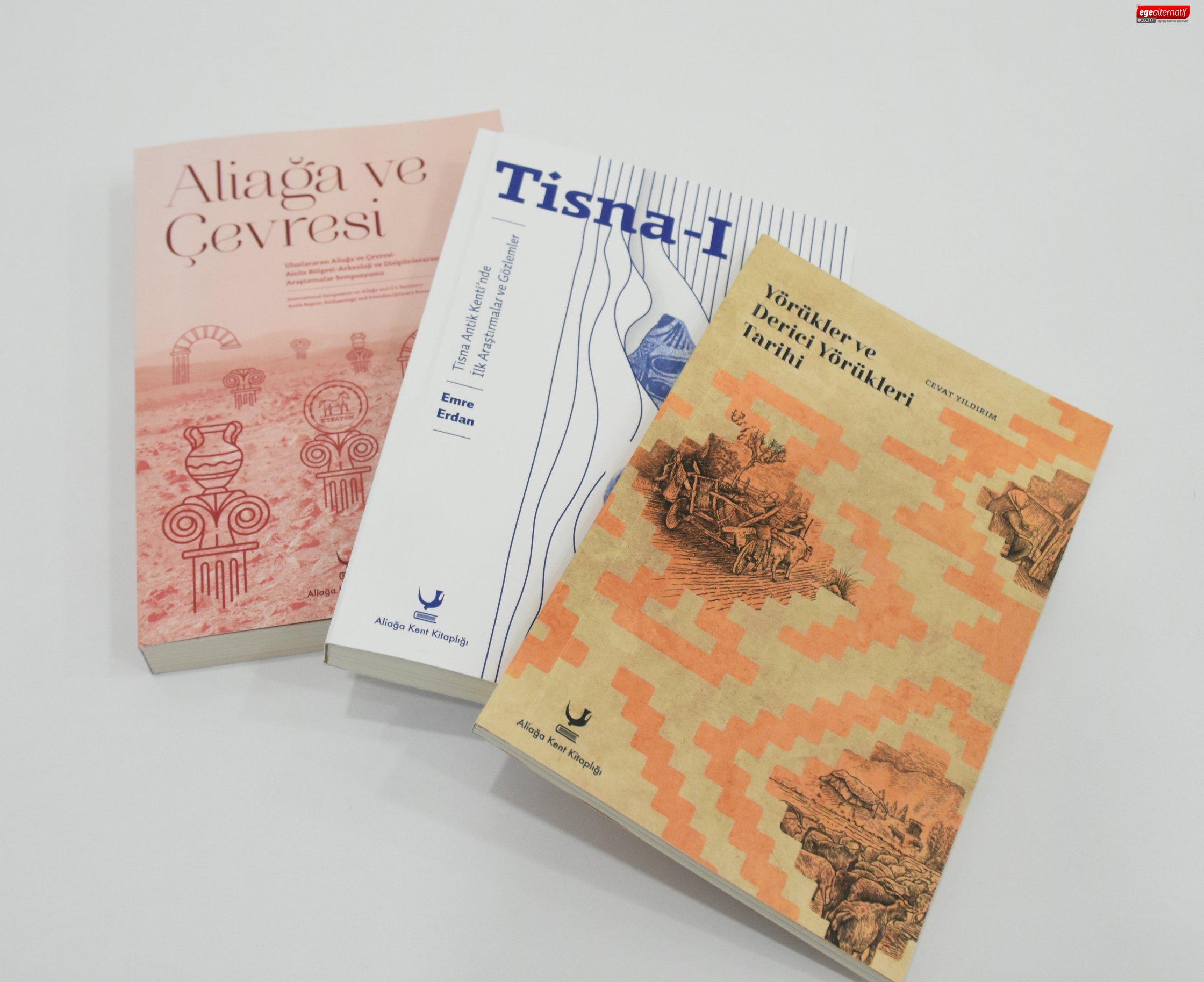 Aliağa Belediyesi'nden 3 Kitap Birden