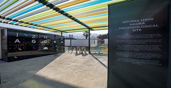 Antik Smyrna Agorası'na modern giriş