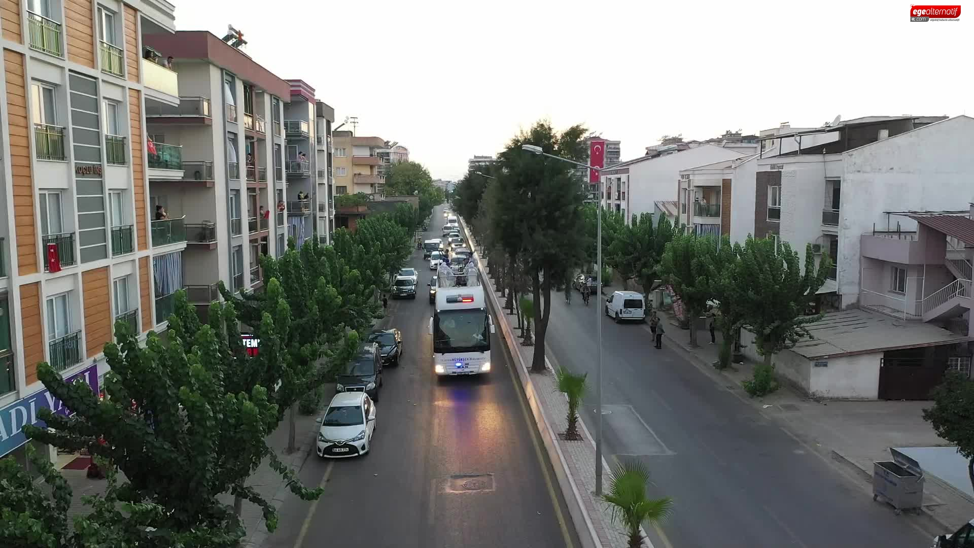 Aydın Büyükşehir Belediyesi Zafer Bayramı'nı coşkuyla kutladı