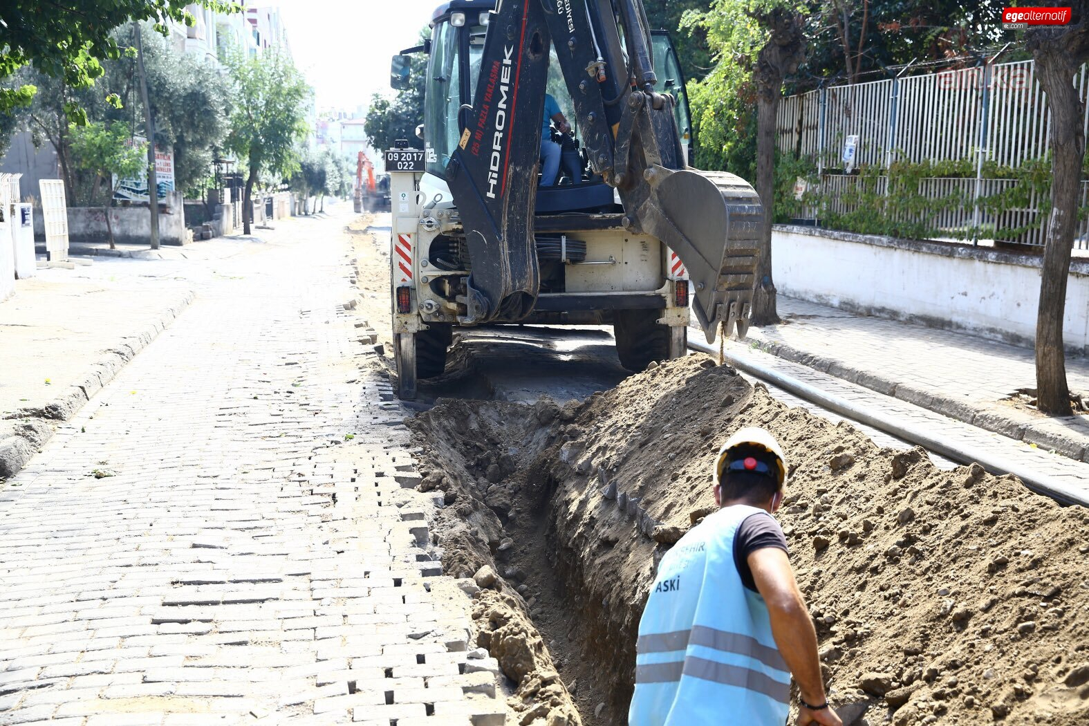 Aydın'da alt yapı çalışmaları sürüyor!