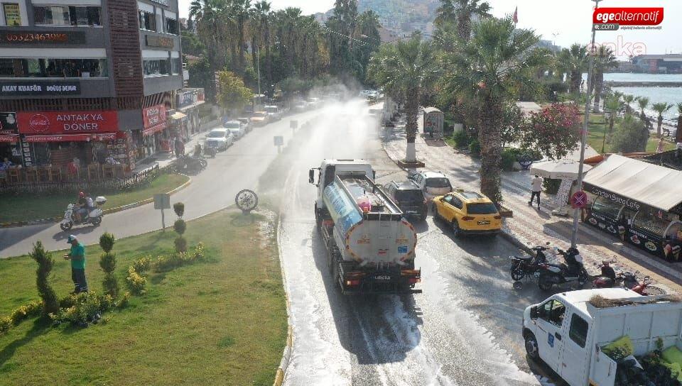 Aydın'da dezenfeksiyon ve hijyen kiti dağıtımı sürüyor!