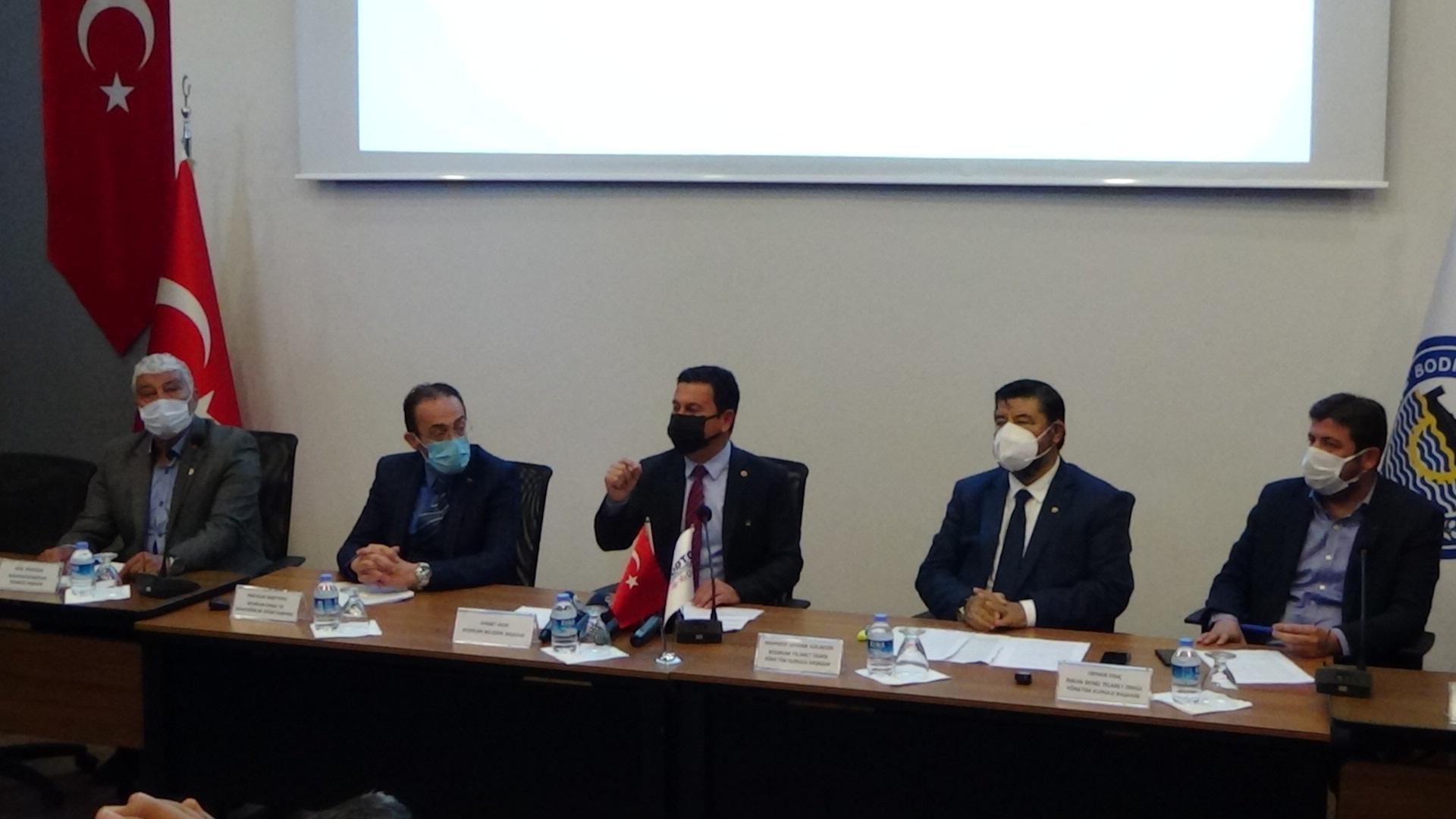 Başkan Aras: Belinde silah olanları Bodrum'da istemiyoruz
