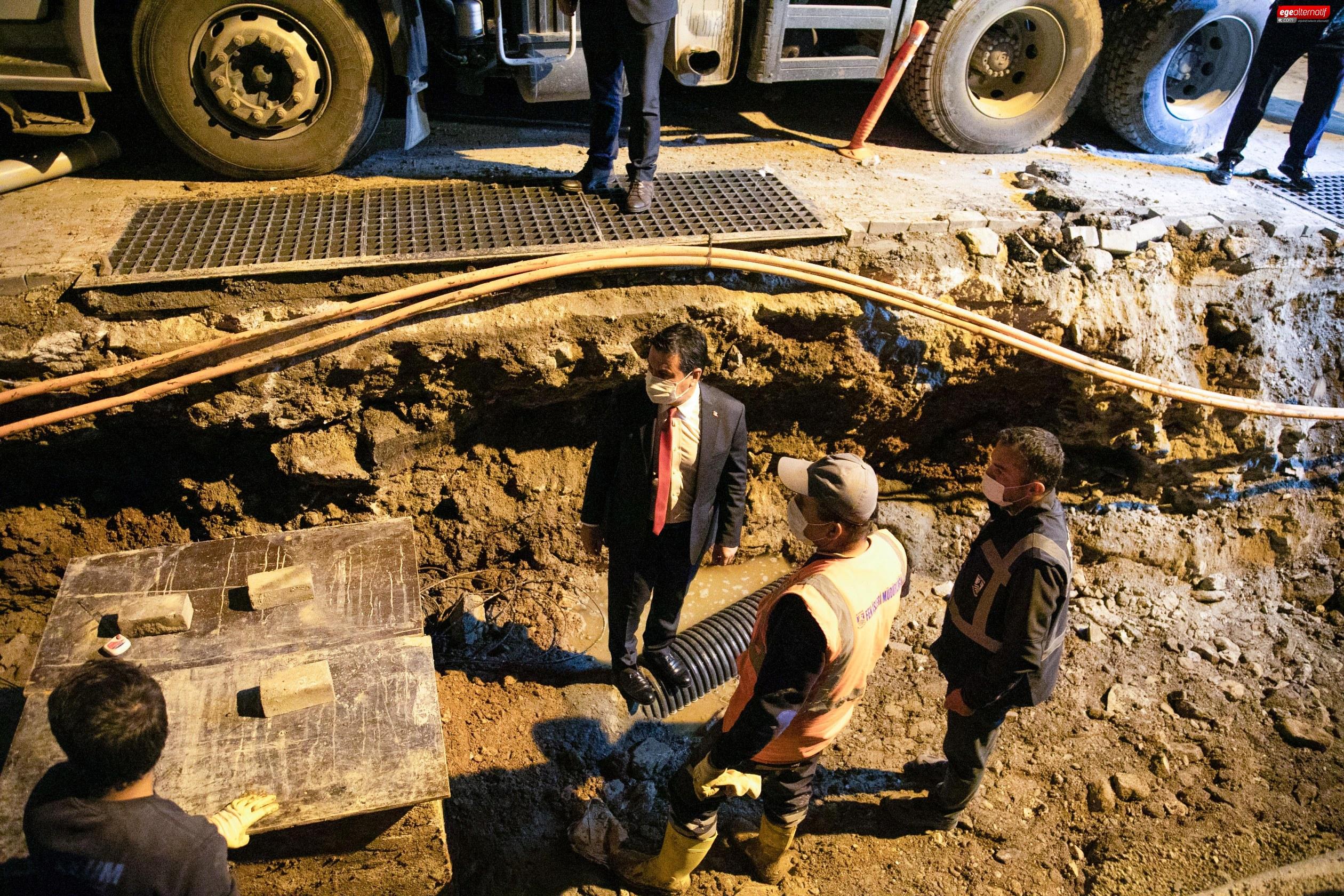 Başkan Aras: Bodrum'u su taşkınlarından kurtarmaya kararlıyız