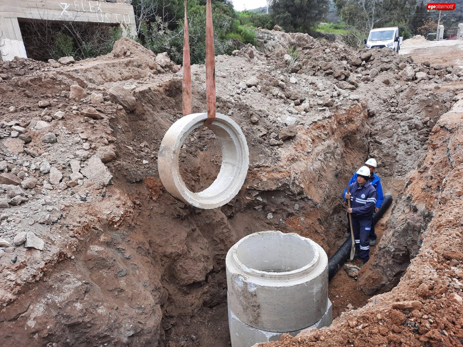 Bitez'de20 Yıllık Kanalizasyon Hasreti Bitti