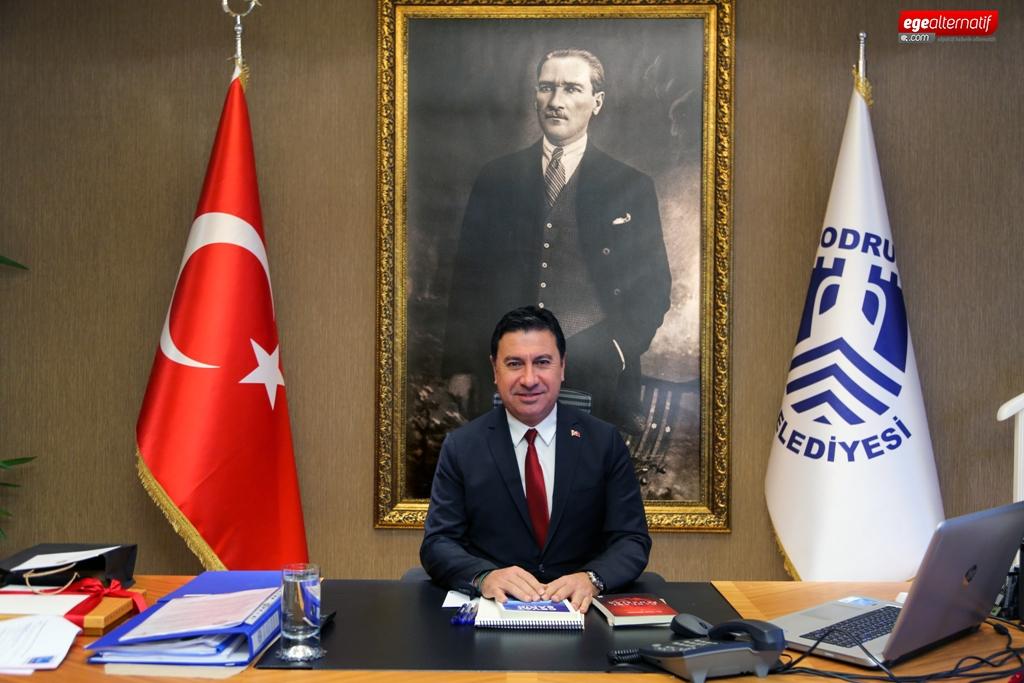 Bodrum Belediye Başkanı Ahmet Aras'tan 19 Mayıs Mesajı