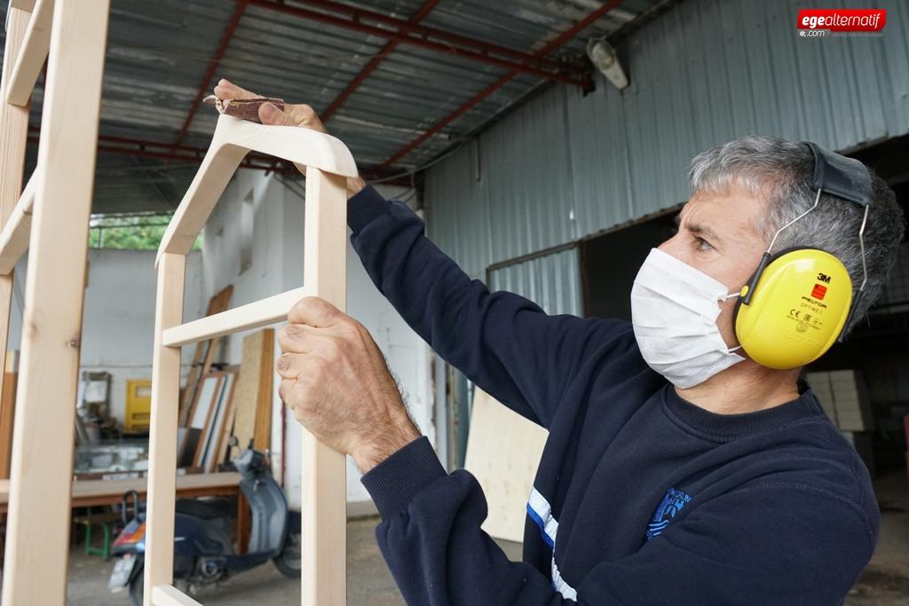 Bodrum Belediyesi mobilya üretimiyle tasarruf sağlıyor