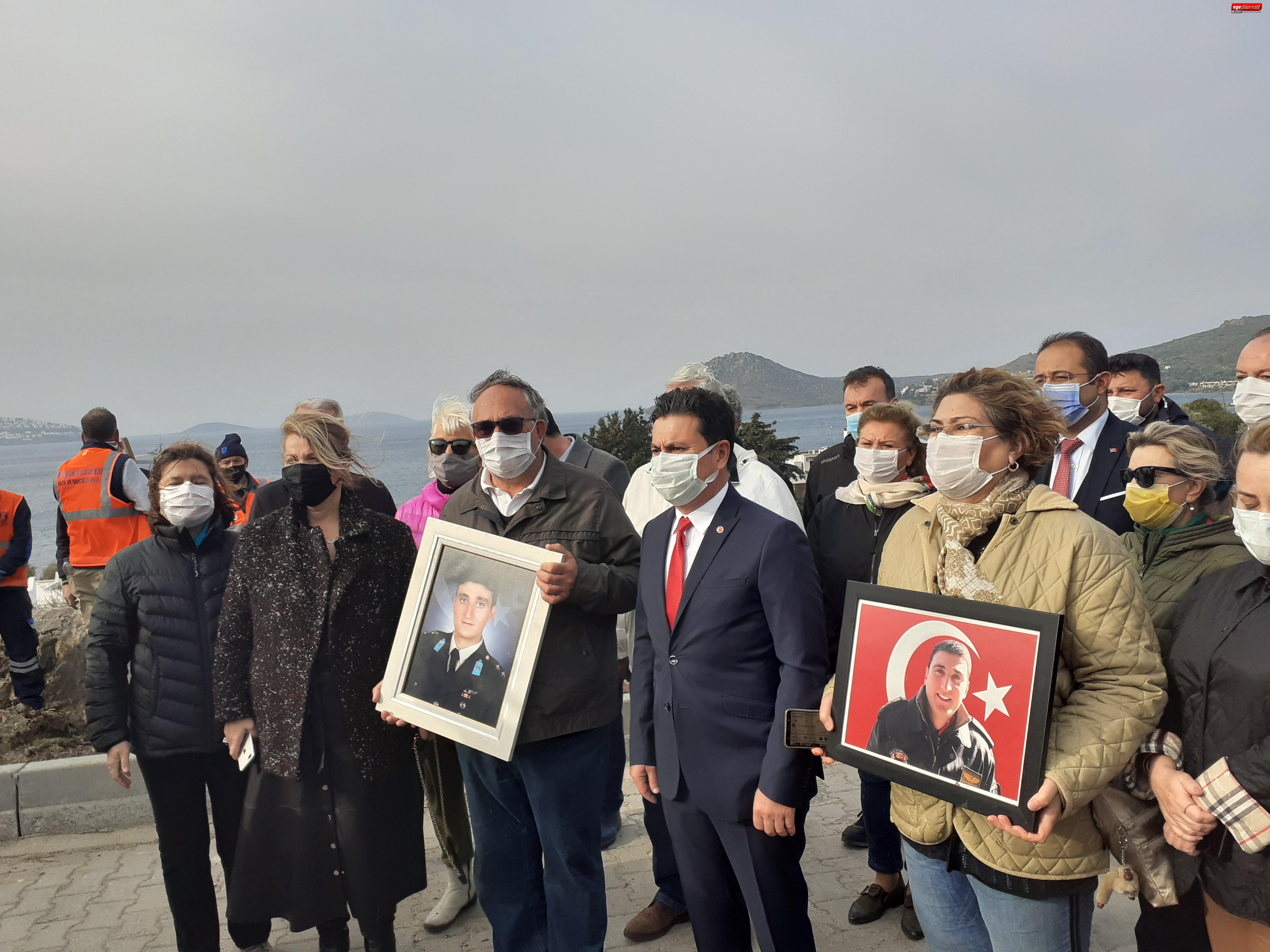 Bodrum Belediyesi  Şehit Barutçu'nun anısına sahip çıktı