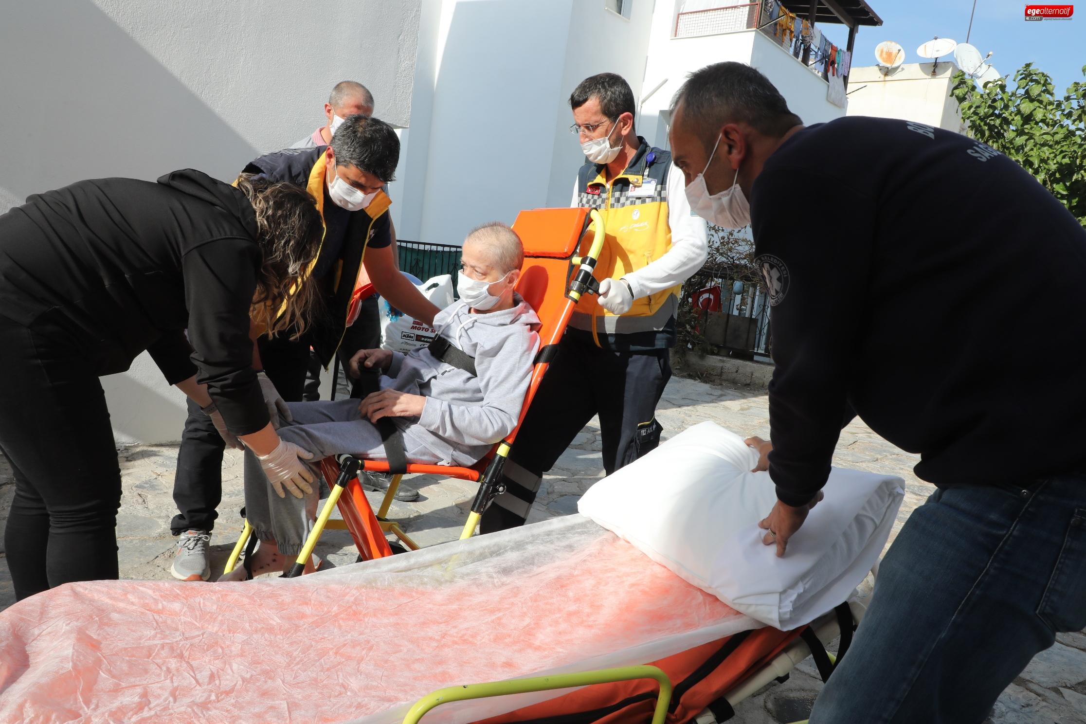 Bodrum'da 3 bin 127 hastaya sağlık hizmeti verildi