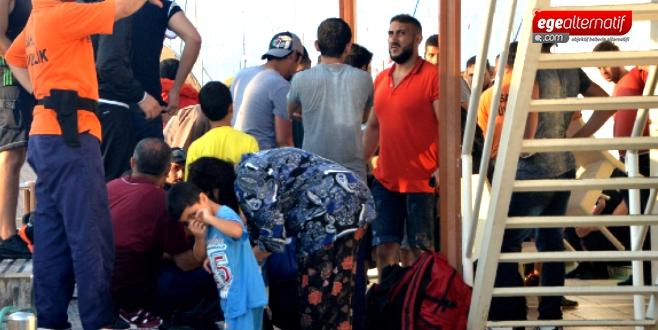 Bodrum'da göçmen faciası: Tekne battı 2 göçmen öldü