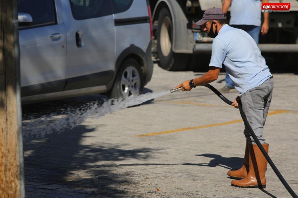 Bodrum'da Kapsamlı Temizlik Çalışmaları Devam Ediyor