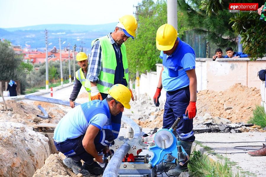Bodrum'da Sorun Yaratan  DSİ Hatları Değiştiriliyor