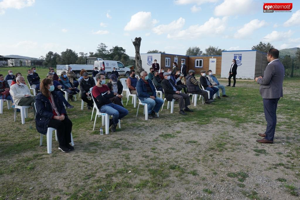 Bodrum'da tarım kampı kuruluyor