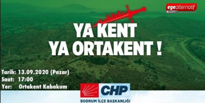 CHP'den arazi eylemi!