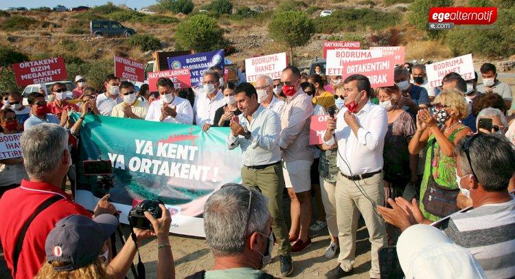 CHP'den Özelleştirmeye Karşıtı Eylem