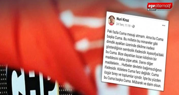 CHP gençlik örgütlerinden Nuri Kiraz'a istifa çağrısı!