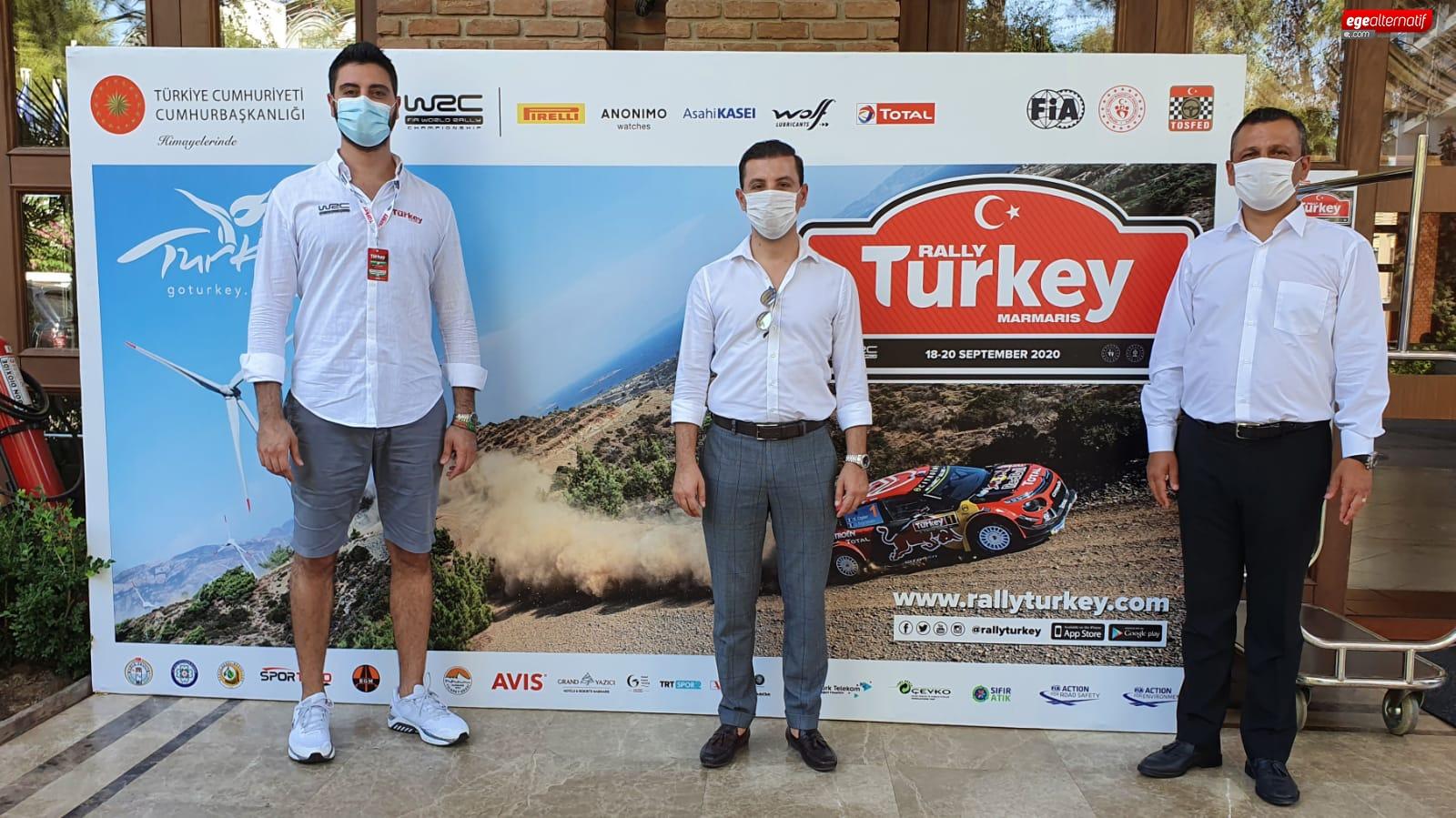 CHP'li Erbay: Dünya Ralli Şampiyonası Muğlamız için çok önemli bir organizasyon