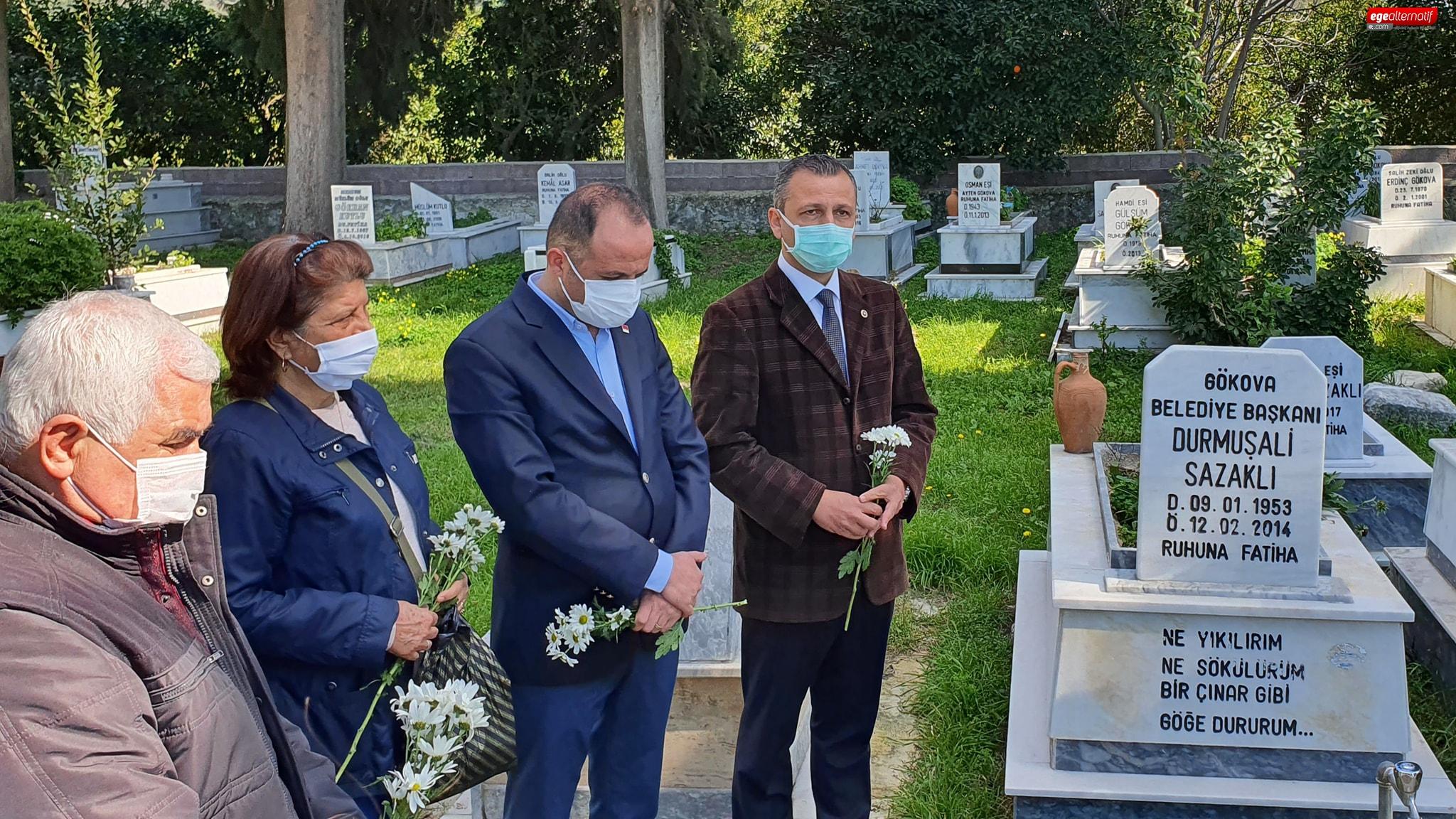 CHP'li Erbay: Durmuş Ali Sazaklı bölgemiz için önemli bir değerdi