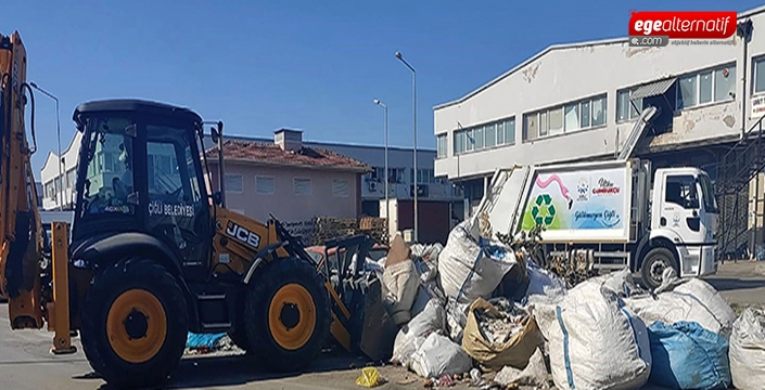 Çiğli Belediyesi'nden Ata Sanayi Sitesi'nde Büyük Temizlik!