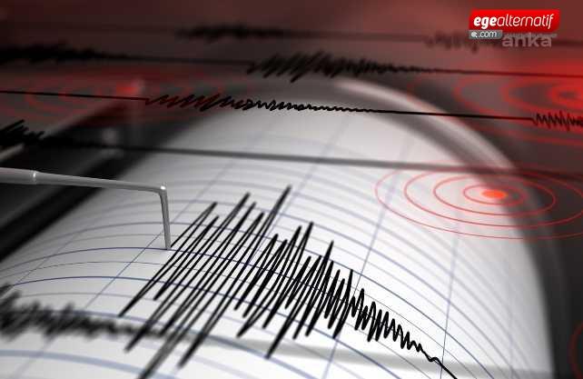Datça yine sallandı! Deprem 4.2 lik büylüğüne oldu
