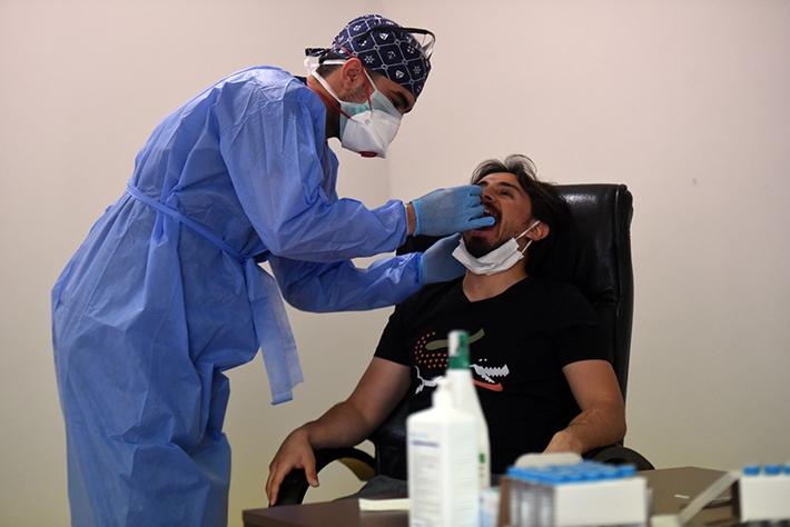 Denizlispor, 2. kez Koronavirüs testinden geçti