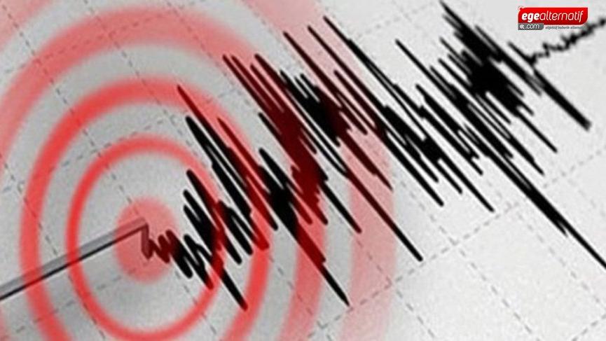 Ege'deki deprem korkuttu!