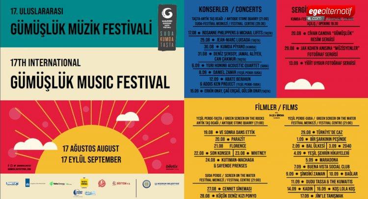 Festival 17 Ağustos'ta Başlıyor...
