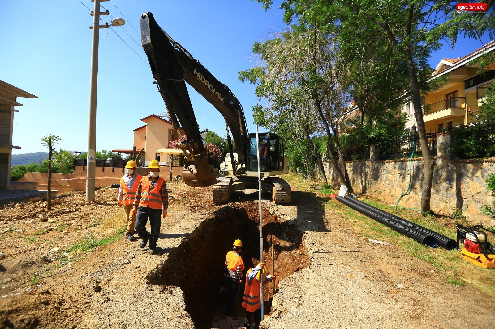 Fethiye'de Dev Altyapı Yatırımı Devam Ediyor